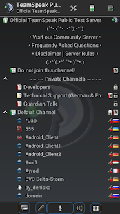 TeamSpeak 3 Screenshot