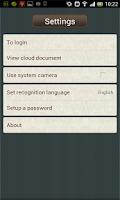Screenshot of ScanDoc Document Reader US/EU