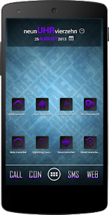 Apex/Nova Semiotik Purple Icon - screenshot