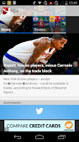 Screenshot of Sports Tap
