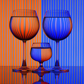 Contrasting beauty by Rakesh Syal - Artistic Objects Other Objects ( blue, orange. color )