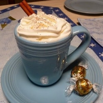 White Hot Spiced Chocolate
