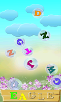 Screenshot of ABC Bubbles - English. Lite