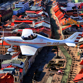 WT-9 over Banska Bystrica by Andy Cíger - Transportation Airplanes