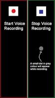 Screenshot of Hidden Voice Recorder