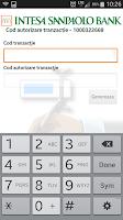 Screenshot of Intesa M-Token