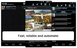 Screenshot of Flickr Uploader (7 days Trial)