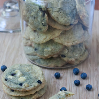 White Chocolate Blueberry Cookies Recipes
