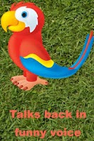 Screenshot of Talking Parrots