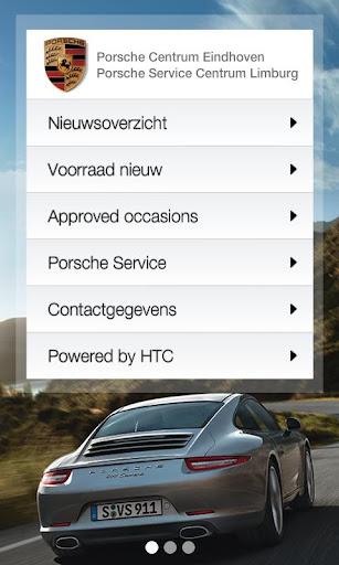 Porsche Groep Zuid App