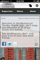 Screenshot of Paramount Theatre Goldsboro