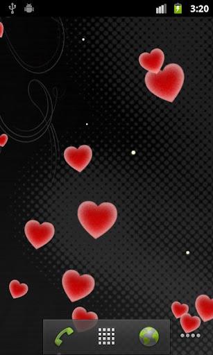 玩個人化App|愛心專業版動態桌布 Hearts免費|APP試玩