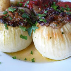Holiday Stuffed Onions