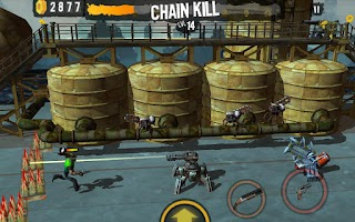 Screenshot of Shoot Many Robots