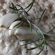 Garlic and Rosemary Focaccia Bread