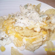 Retro Chicken & Chips Casserole