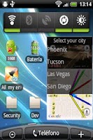 Screenshot of Traffic Cams Widget