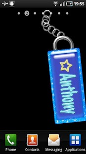 Anthony Name Tag - screenshot