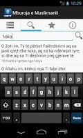 Screenshot of Mburoja e Muslimanit