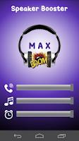 Screenshot of Speaker Volume Booster