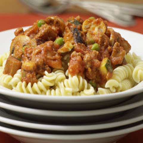 Meaty Pasta Ratatouille