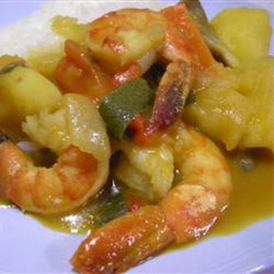 Prawn Red Thai Curry