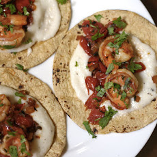 Shrimp and Grits Tacos