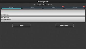 Screenshot of VLC Streamer