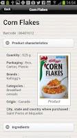 Screenshot of Open Food Facts