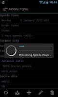 Screenshot of MobileOrgNG