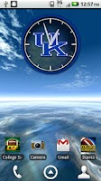 Screenshot of Kentucky Wildcats Live Clock