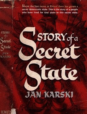 "First edition of ""Story of a Secret State""."