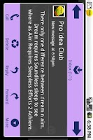 Screenshot of Popup SMS Pro.