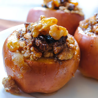 Walnut-Stuffed Baked Apples