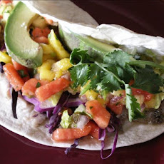 Jamaican-Me-Nuts! Mahi-Mahi Tacos With Tropical Fruit Salsa