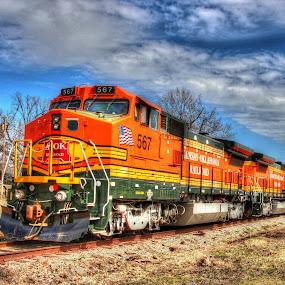 by Steve Tharp - Transportation Trains