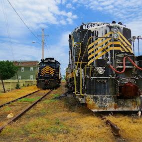 by David Stults - Transportation Trains ( , land, device, transportation )