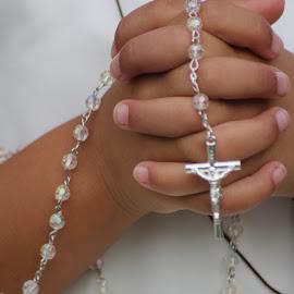Rosary practice by April Grunwald - Babies & Children Hands & Feet ( child, god, church, child photography, child portrait )