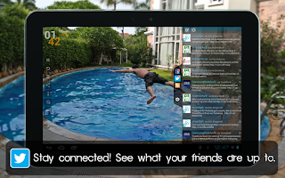 Screenshot of Social Frame HD Free