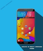 Screenshot of Galaxy s5 theme