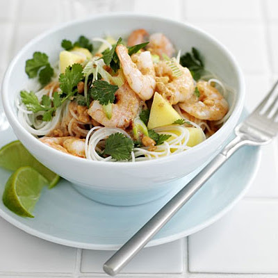Prawn Rice Noodle Salad
