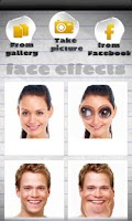 Screenshot of Face Effects
