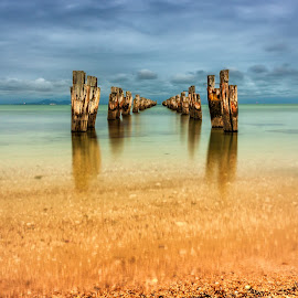 Soldiers by Darren Bosnjak - Landscapes Beaches ( landscape, beach,  )