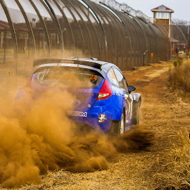 by William Louw - Sports & Fitness Motorsports ( rally, south african rally, ford rally car, ford, rally car )