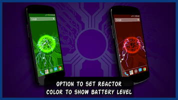 Screenshot of Reactor Live Wallpaper