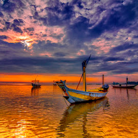 selfie... by Andy Bagus - Transportation Boats