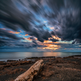 sunset down by Gus Mang Ming - Landscapes Cloud Formations