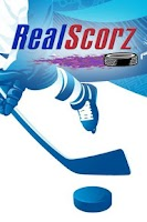 Screenshot of RealScorz Hockey