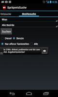 Screenshot of Spritpreis Österreich