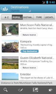 Uganda Travel Guide by Triposo - screenshot